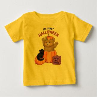 First Halloween Teddy Baby T-Shirt