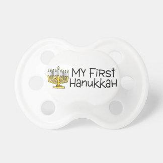 First Hanukkah Pacifier