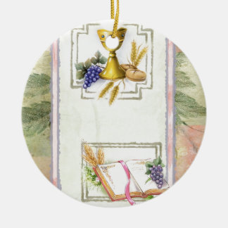 First Holy Communion, confirmation Ceramic Ornament