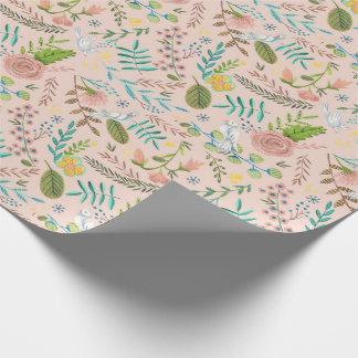 First Holy Communion Floral | Wrapping Paper