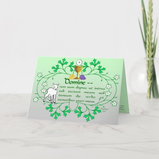 First holy communion greeting card traditional zazzle first holy communion greeting card traditional m4hsunfo