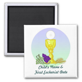 First Holy Communion Magnet Template