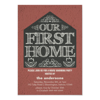 First Home House Warming Party Card