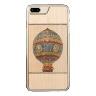 First Human Hot Air Balloon Carved Carved iPhone 8 Plus/7 Plus Case