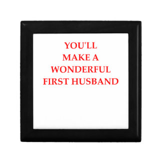first husband gift box