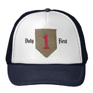 First Infantry Division Cap Trucker Hats