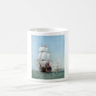 First Journey Of The HMS Victory Coffee Mug