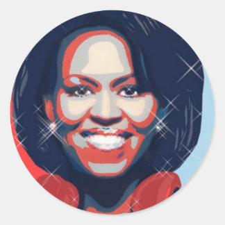 First Lady Classic Round Sticker