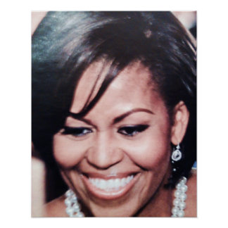 FIRST LADY, MICHELLE OBAMA poster
