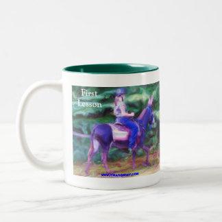 First Lesson Two-Tone Coffee Mug