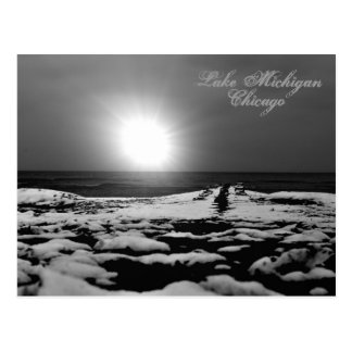 First Light Lake MIchigan Post Postcard