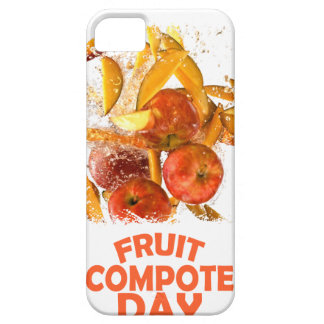 First March - Fruit Compote Day - Appreciation Day iPhone 5 Cover