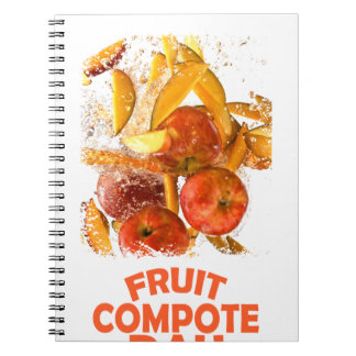 First March - Fruit Compote Day - Appreciation Day Spiral Notebook