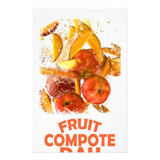First March - Fruit Compote Day - Appreciation Day Stationery