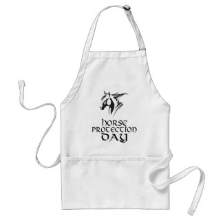 First March - Horse Protection Day Standard Apron