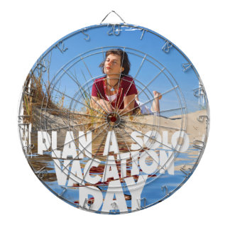 First March - Plan A Solo Vacation Day Dartboard
