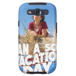 First March - Plan A Solo Vacation Day Galaxy SIII Cases