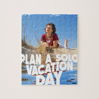 First March - Plan A Solo Vacation Day Puzzle