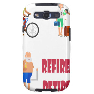 First March - Refired, Not Retired Day Samsung Galaxy SIII Cover