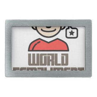 First March - World Compliment Day Belt Buckle