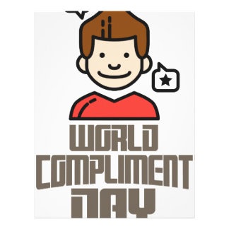 First March - World Compliment Day Letterhead