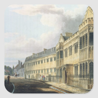 First Master's House, Harrow School, from 'History Square Stickers