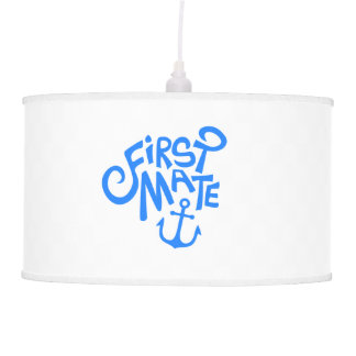 First Mate Anchor Nautical Pendant Lamp