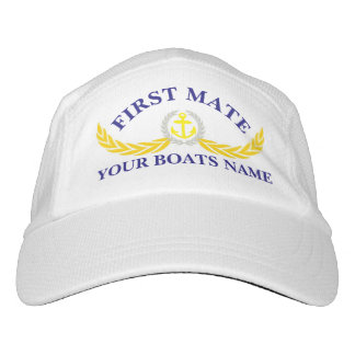 First mate  boat crew hat