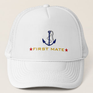 First Mate Boater Trucker Hat
