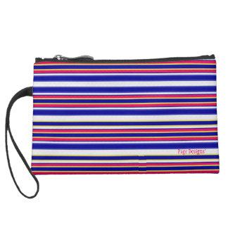 First_Mate(c) ii Fabric Design_-Sueded Mini Clutch