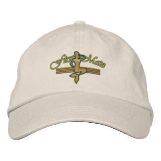 FIRST MATE Mermaid Embroidered Design Embroidered Hat