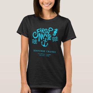 First Mate Ocean Cruise Seahorse and Anchor T-Shirt