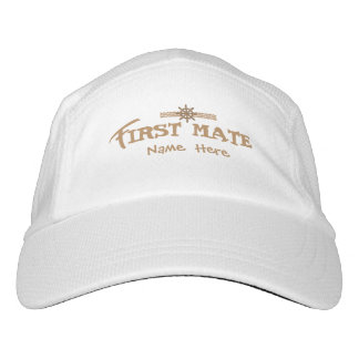 First Mate Personalized Hat