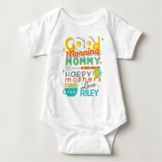 First Mother's Day Shirt Retro Mothers Day Gift
