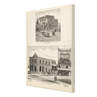 First National Bank, Kansas 2 Canvas Print