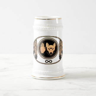 First Nations Beer Mug Wildlife Art Stein Mug