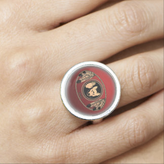 First Nations Rings Metis Wolf Flag Jewelry Rings