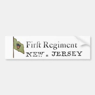 First New Jersey Regiment, Continental Line Bumper Sticker