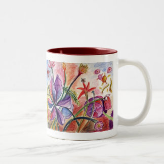 First Orchid Two-Tone Coffee Mug