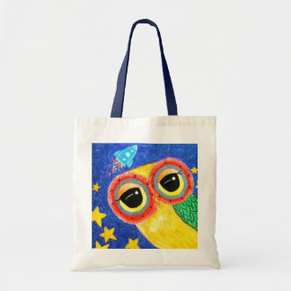 First Owl In Space Tote Bag