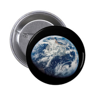 First photograph of the Earth taken by the Man 2 Inch Round Button
