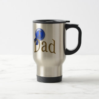 First Place Dad Father's Day Gift Travel Mug