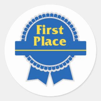 First Place Sticker