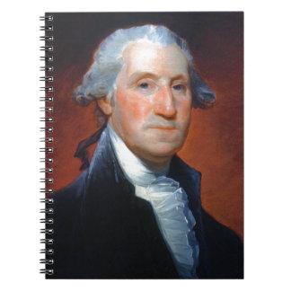 First President: George Washington Spiral Notebook