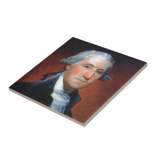 First President: George Washington Tile