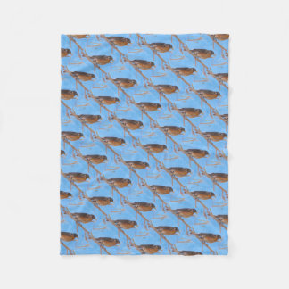 First Robin Blanket Fleece Blanket