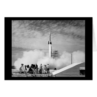 "First Rocket Launch, Cape Canaveral, ""Bumper 2"" Card"
