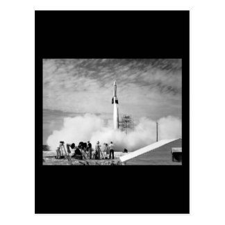 "First Rocket Launch, Cape Canaveral, ""Bumper 2"" Post Cards"