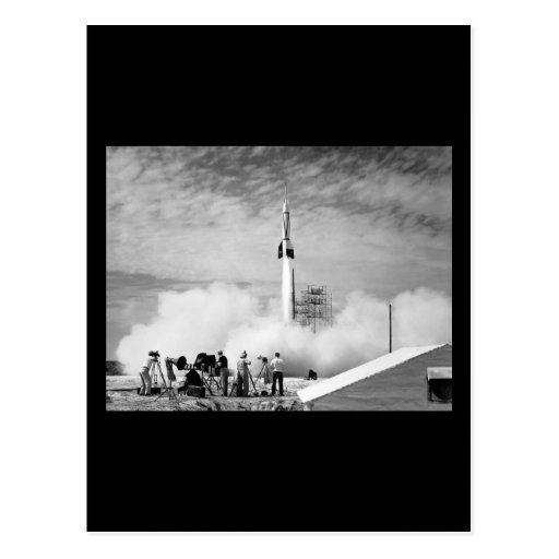 """First Rocket Launch, Cape Canaveral, """"Bumper 2"""" Post Cards"""