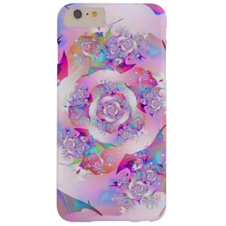 First Rose Fine Fractal Art Barely There iPhone 6 Plus Case